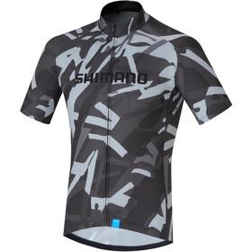 Shimano Team Fietsshirt korte mouwen Heren grijs